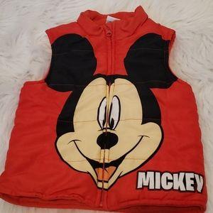 Disney Mickey Mouse Vest 4T